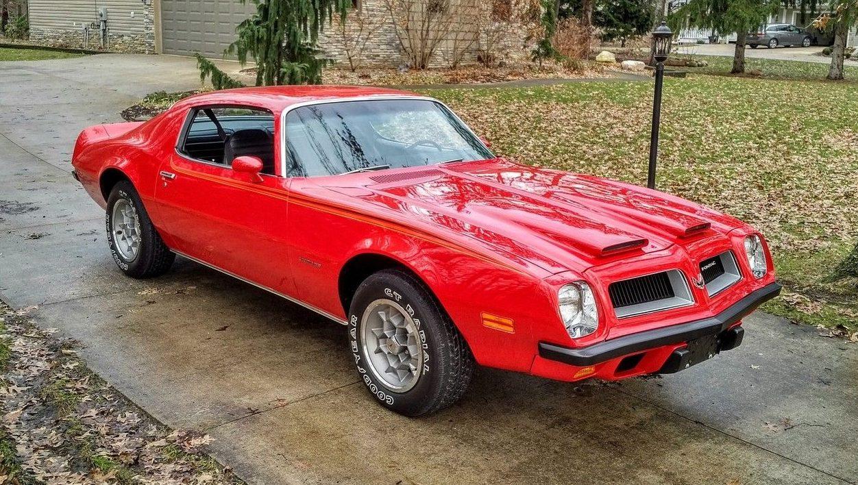 8,205 Original Miles: 1974 Pontiac Firebird