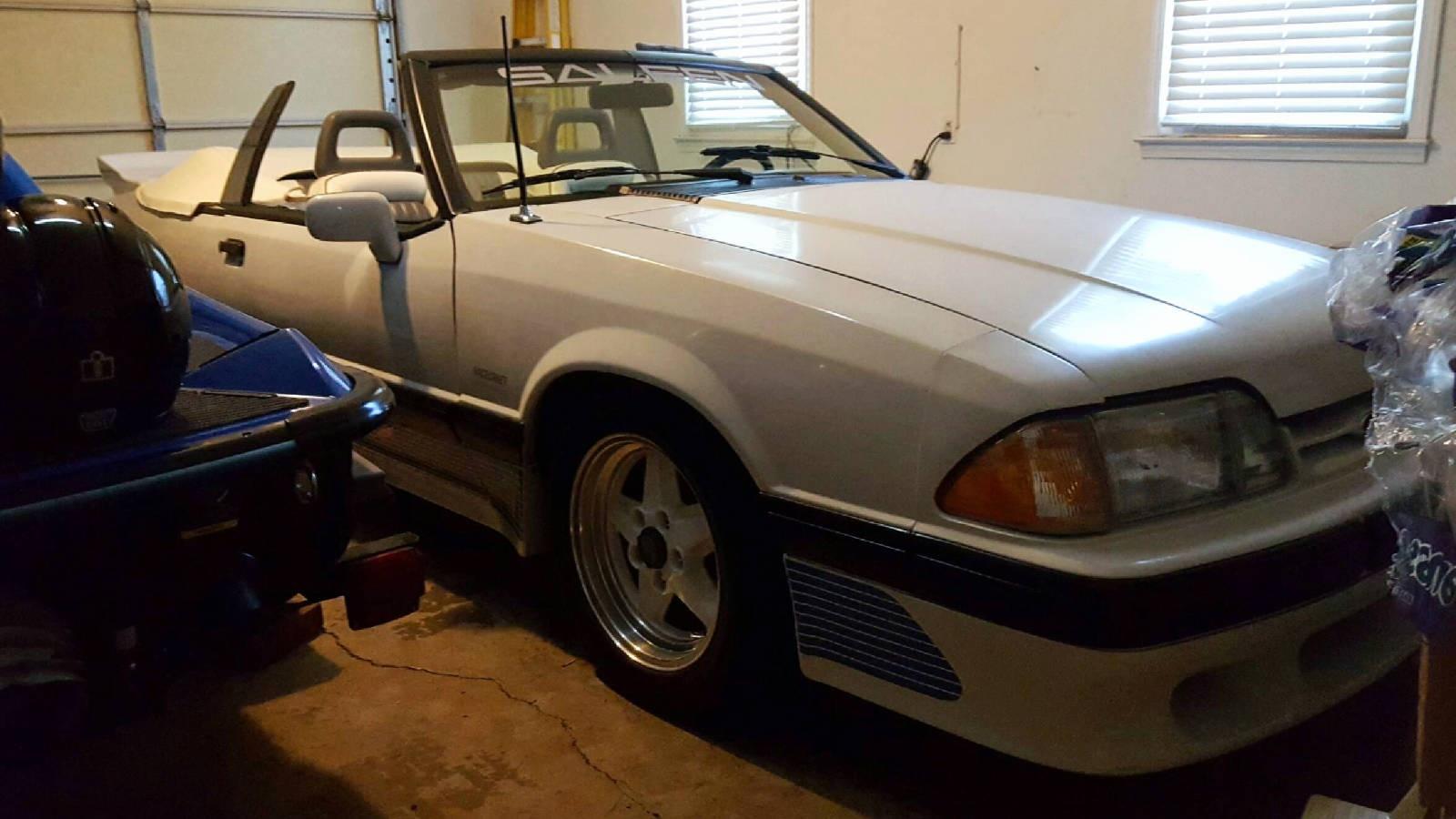EXCLUSIVE: 1989 Saleen Mustang Convertible ($3k Price Drop!)