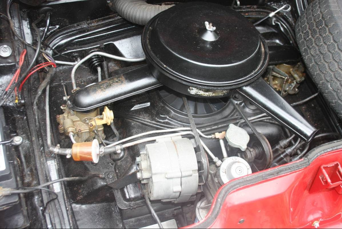 Survivor Or Restored 1965 Corvair Monza 110 Arnold Fuel Filters Things Look Really Nice Back Here As Well It Looks Original Except For Perhaps That Filter I Would Like To Have Seen Pictures Under The Car