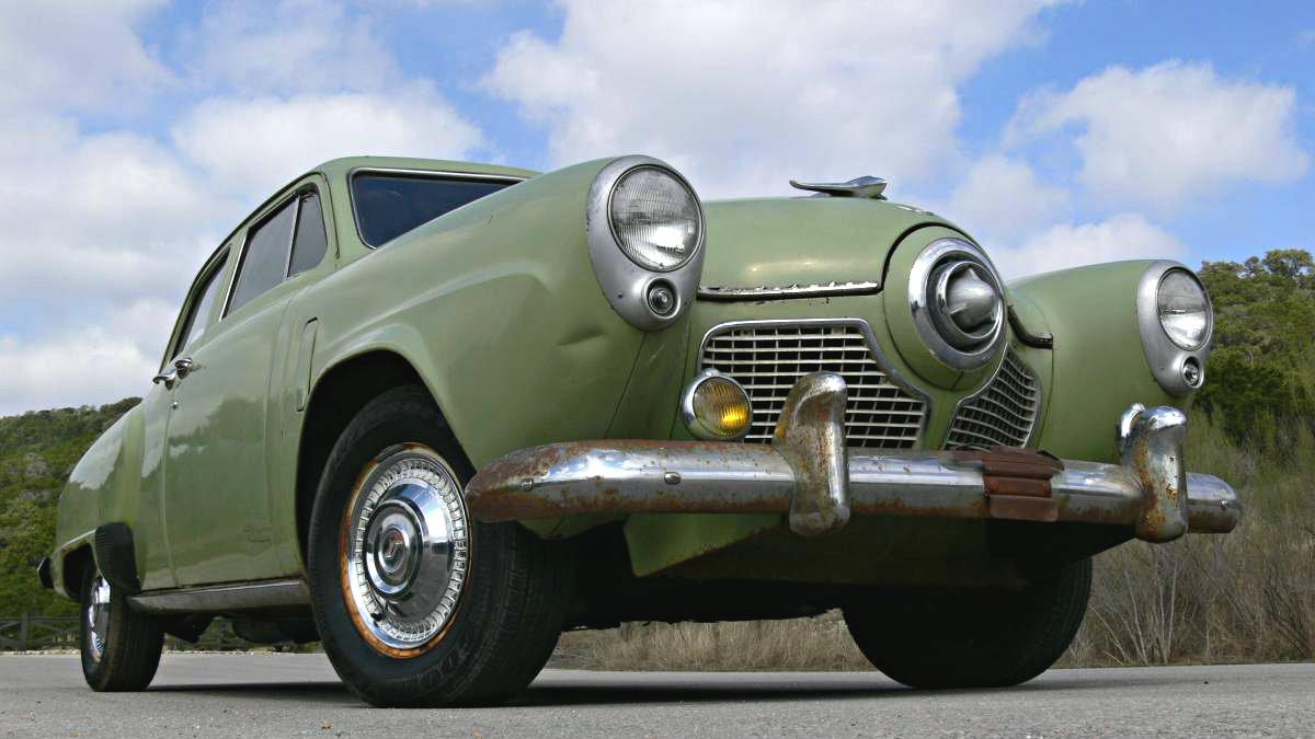exclusive 1951 studebaker commander