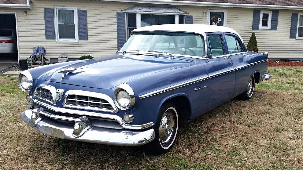 2 Owner Mopar 1955 Chrysler Windsor Deluxe