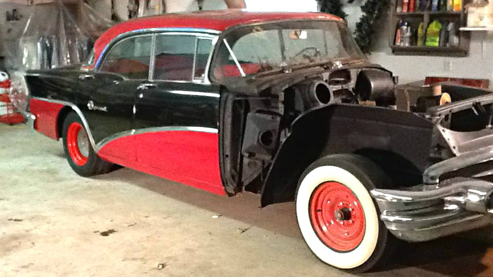 Facelift In Progress 1956 Buick Special