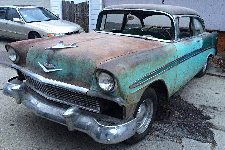 Chevrolet S Cross 2018 >> Two Tone Original: 1956 Chevrolet Bel Air