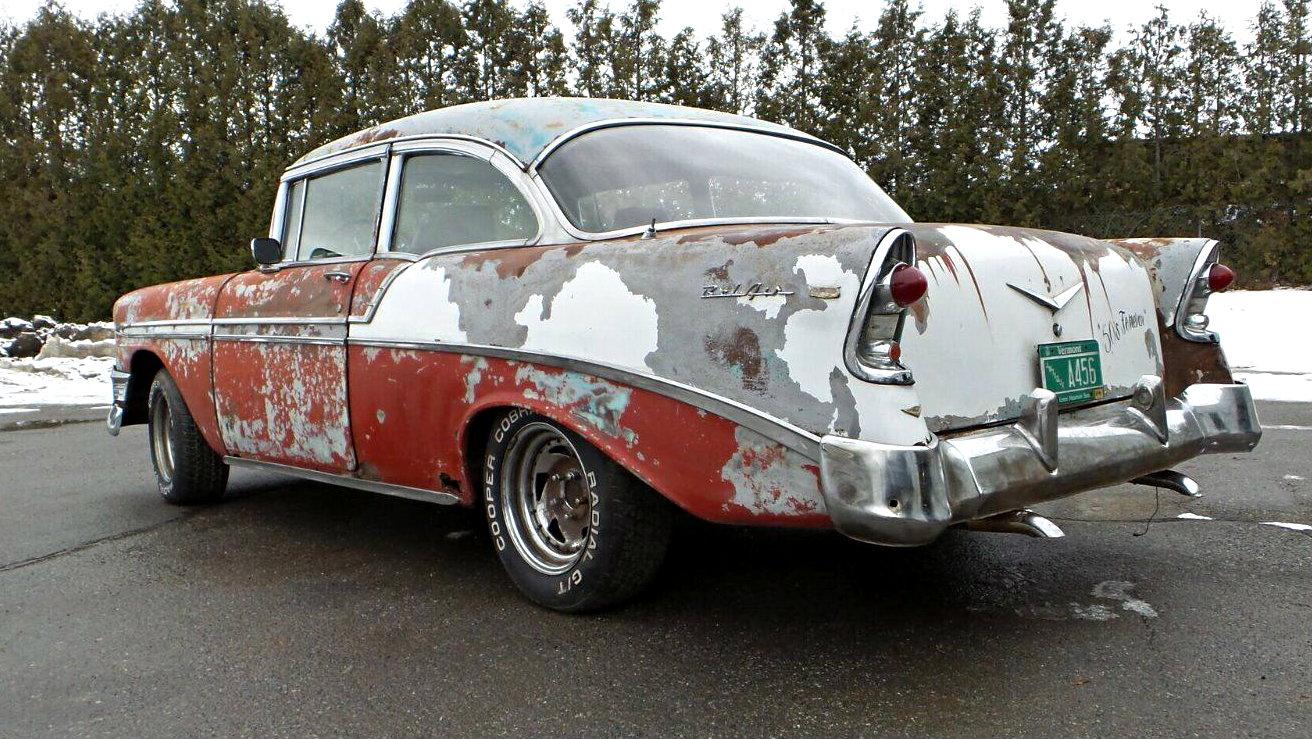 Patina Queen 1956 Chevrolet Bel Air