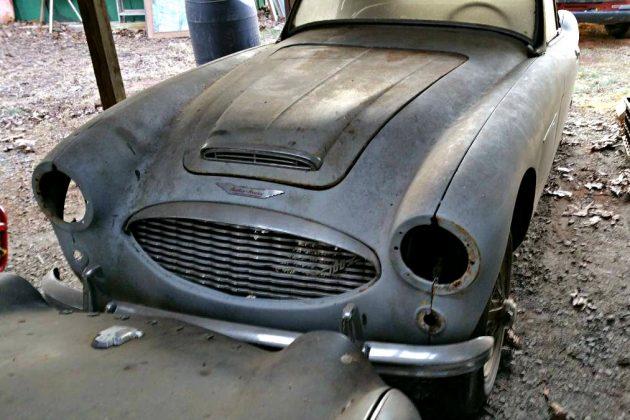 Back Yard Mechanic Special: 1957 Austin Healey 100-6