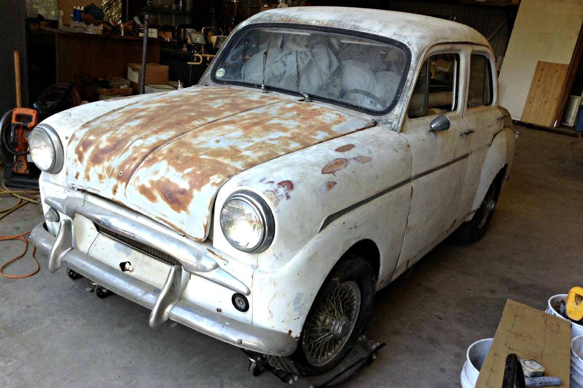 Pint Sized Sedan: 1959 Triumph Standard 10