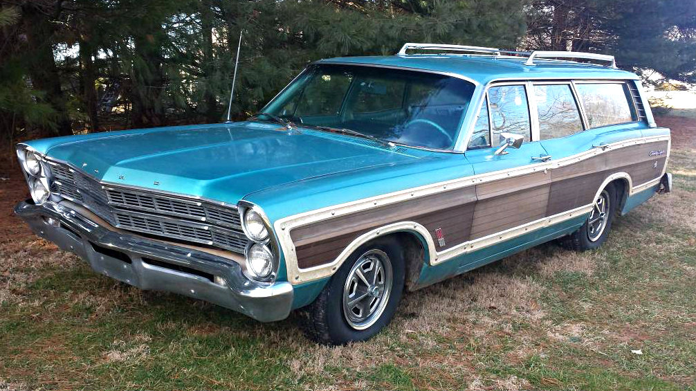 One Owner Wagon: 1967 Ford Country Squire