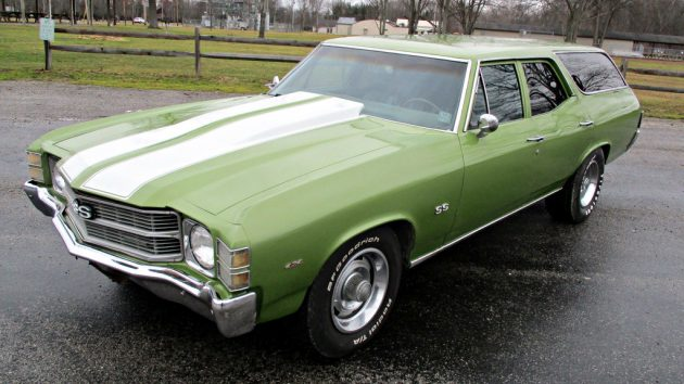 Muscular Wagon 1971 Chevrolet Chevelle Concours Wagon