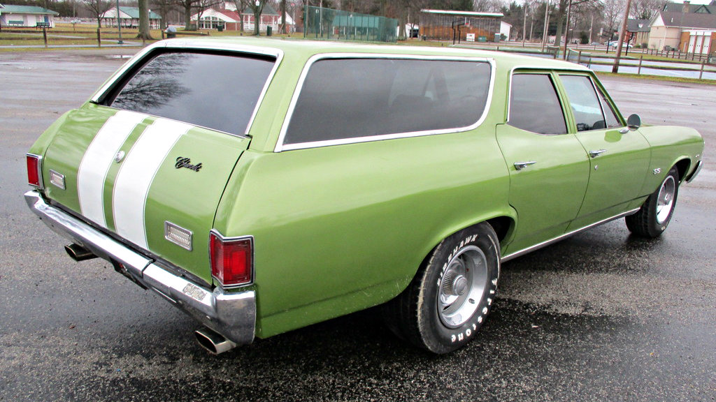 Muscular Wagon: 1971 Chevrolet Chevelle Concours Wagon