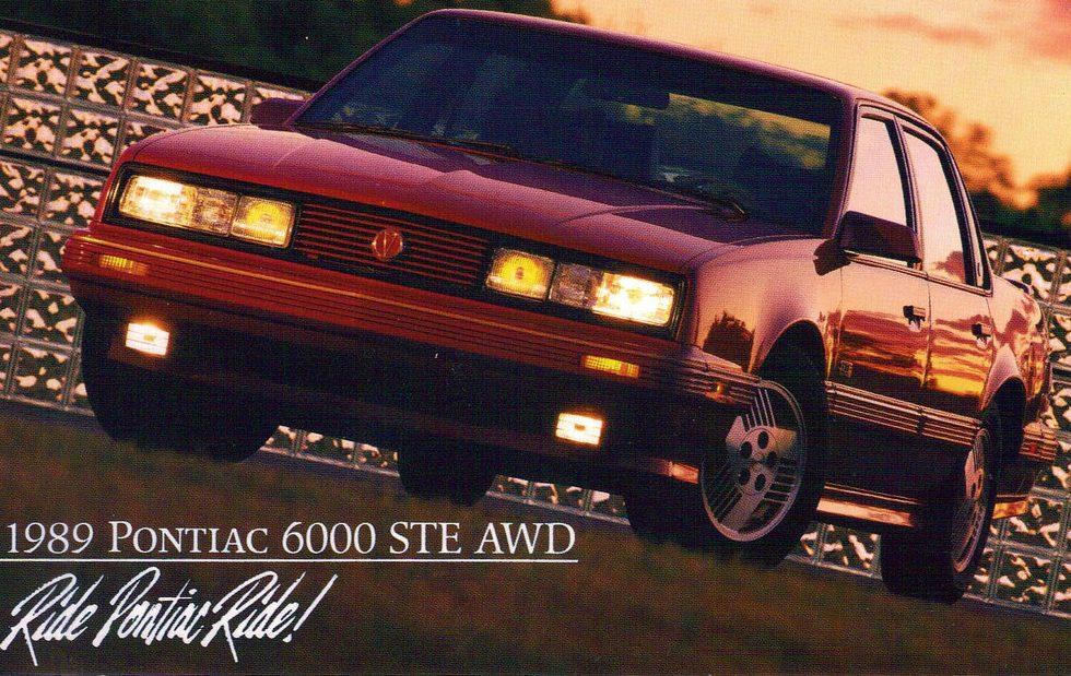 Listing All Cars >> Ready for Winter: 1989 Pontiac 6000 STE AWD