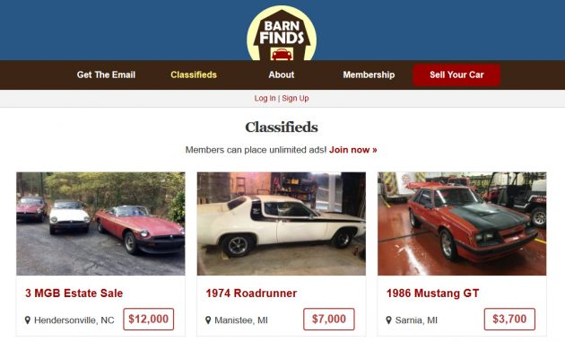 New Feature Alert: BF Classifieds!