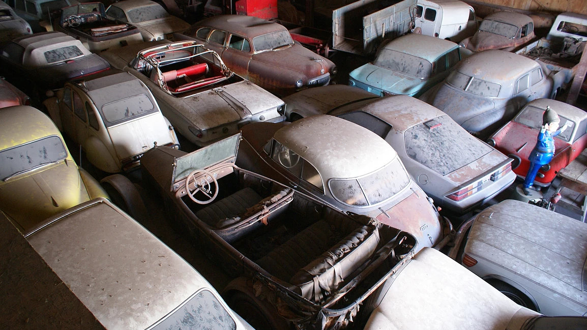 Over 700 Barn Finds Up For Grabs