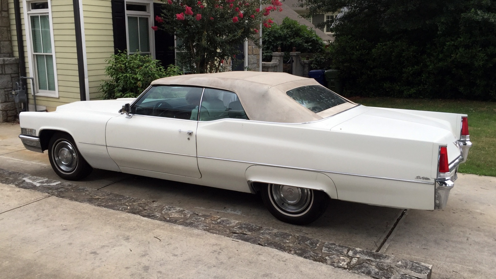 EXCLUSIVE: 1969 Cadillac DeVille Convertible