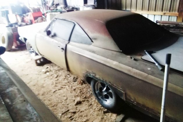 EXCLUSIVE: 1968 Plymouth Satellite For $3,500 (Engine/Tranny Now Included)