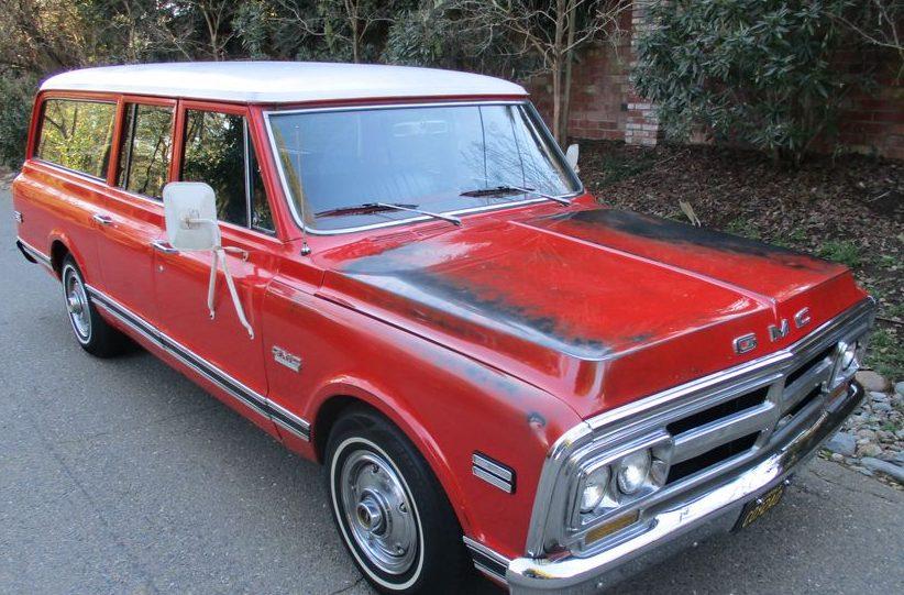 Honda Odyssey 2017 >> Clamshell Tailgate: 1970 GMC Suburban