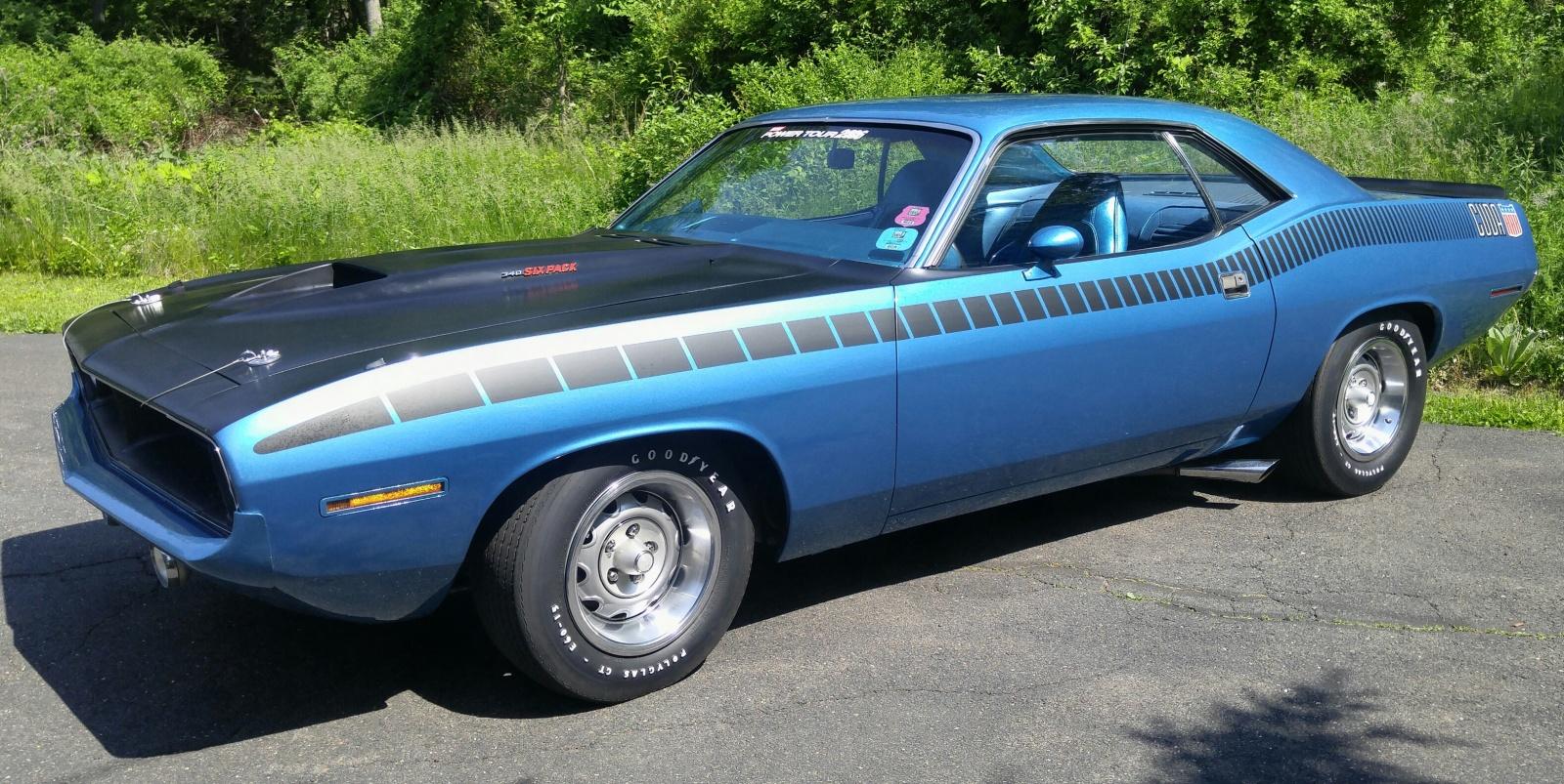 2017 Dodge Barracuda >> Dusty Plum: 1970 Plymouth Cuda GranCoupe