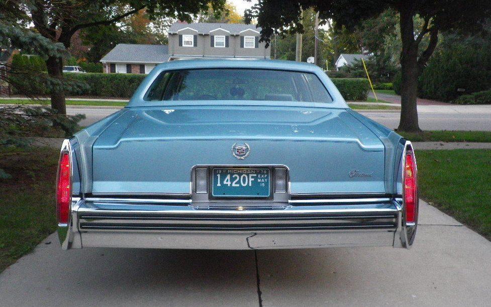 12,000 Original Miles: 1978 Cadillac Fleetwood