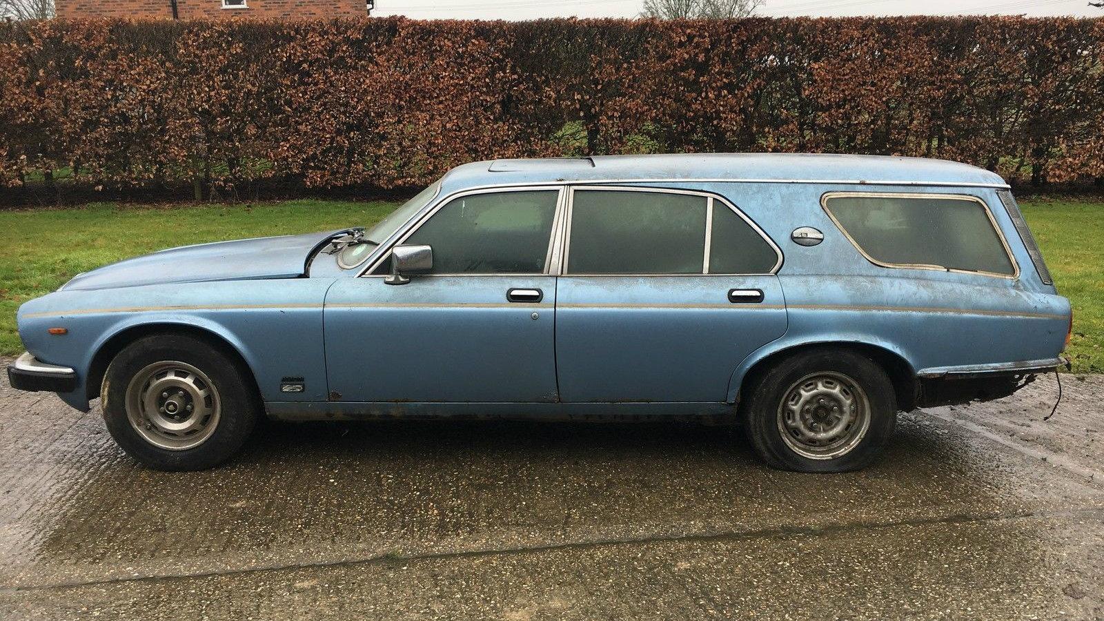 Ever Seen One? 1981 Jaguar XJ Ladbroke Wagon