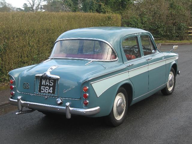600 British Project 1958 Singer Gazelle
