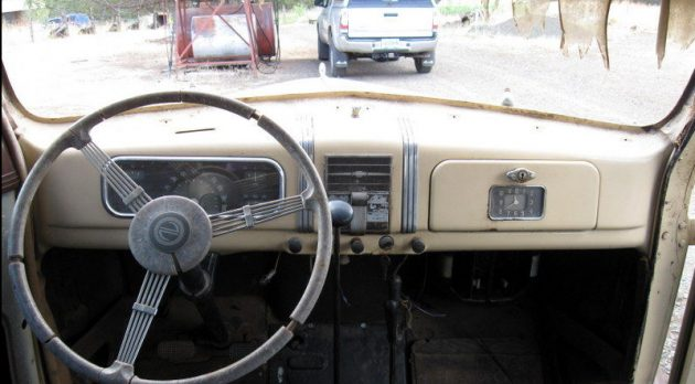 Inside Front E X on 1937 Chevrolet For Sale