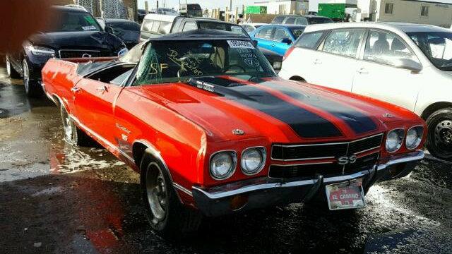 Chevy El Camino >> Copart Crush: 1970 Chevrolet El Camino