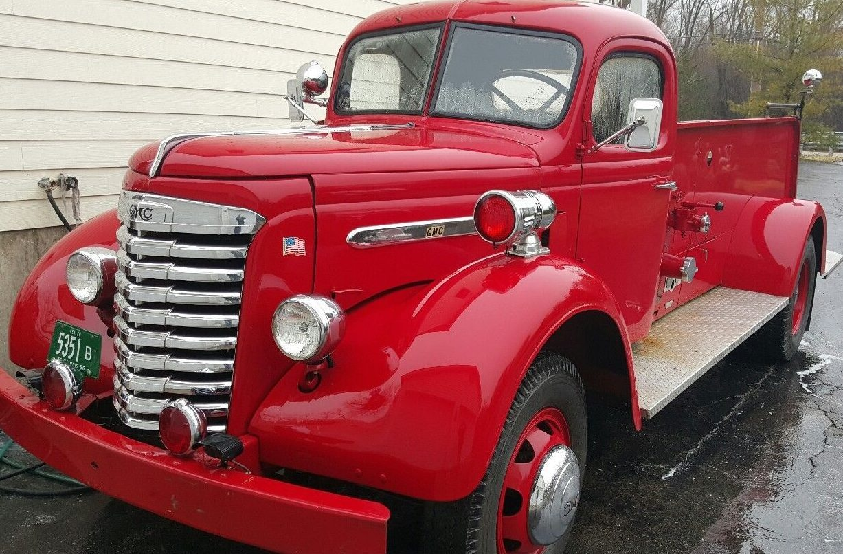 1940 Chevy Truck >> About That Dog: 1940 GMC Fire Engine