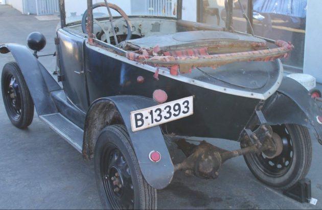 Little Boat: 1923 Citroën ZX Deluxe Drophead