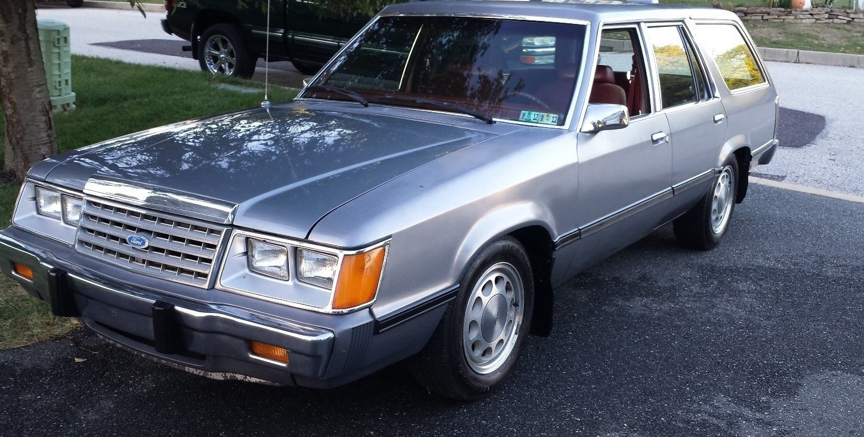 Gramp's Estate: 1986 Ford LTD Wagon
