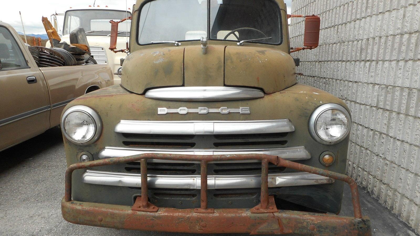 Sign Written: 1948 Dodge Panel Truck