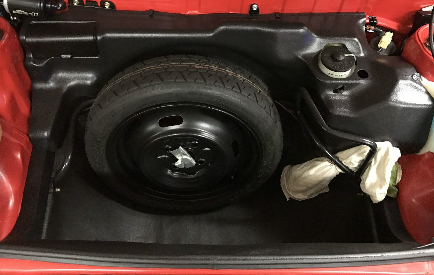 Everything On This MR2 Appears As New, Including The Spare Tire, Painted  Surfaces Inside And Out, And Even The Black Plastic Trim.