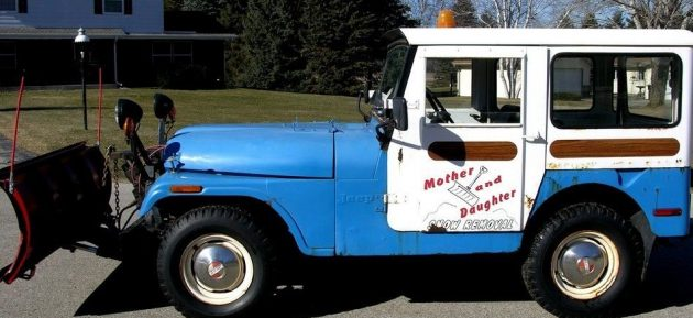 Mother Daughter Workhorse: Rusty 1973 Jeep CJ5