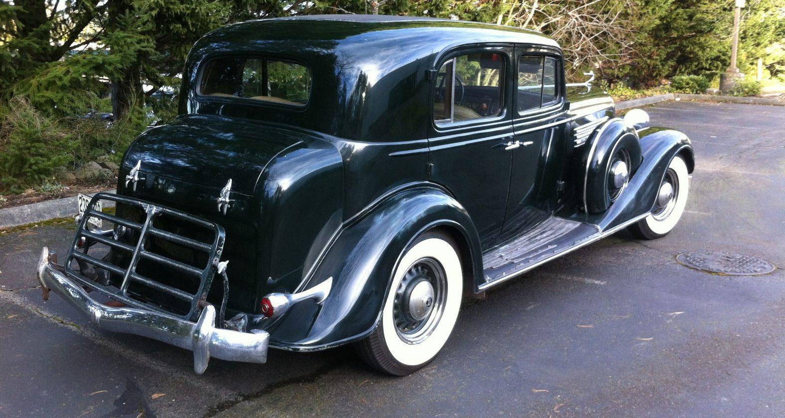 Survivor Or Restored: 1934 Buick Club Sedan