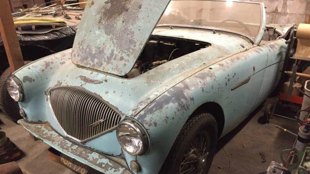Estate Sale: 1956 Austin Healey BN2