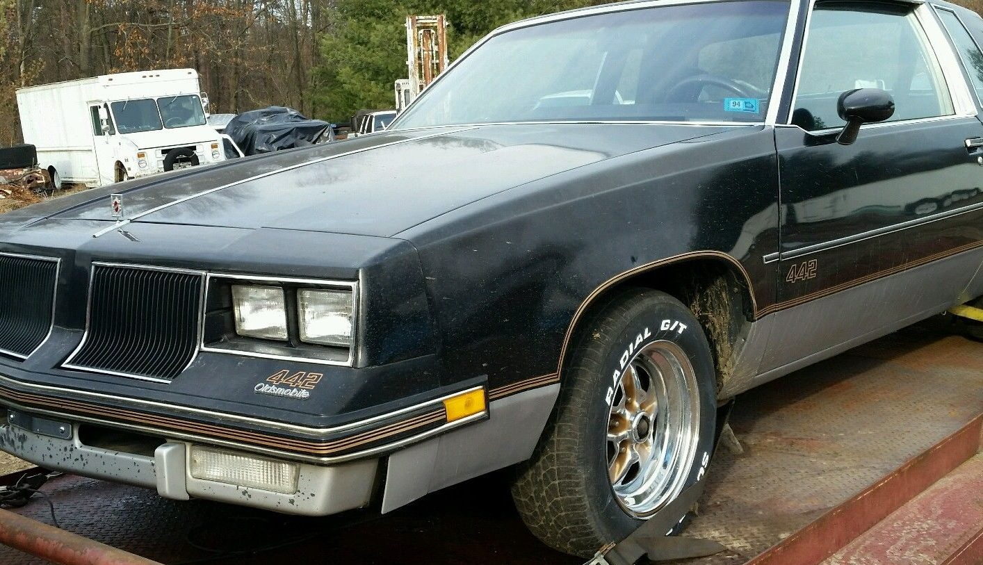 10 000 Mile Theft Recovery 1986 Olds 442