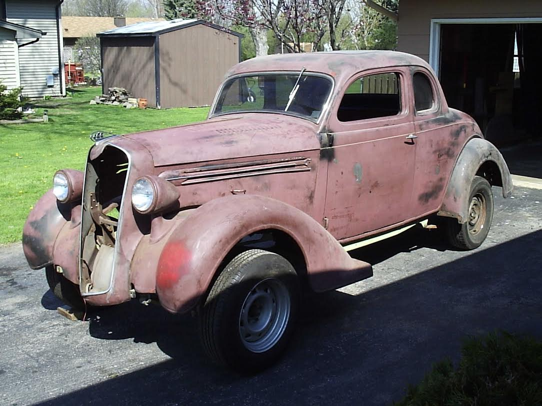 Exclusive 1936 dodge coupe project for 1936 dodge 5 window coupe