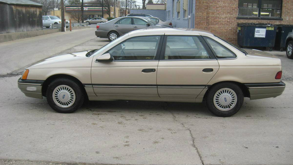 Nearly New! 3,453 Mile 1987 Ford Taurus LX