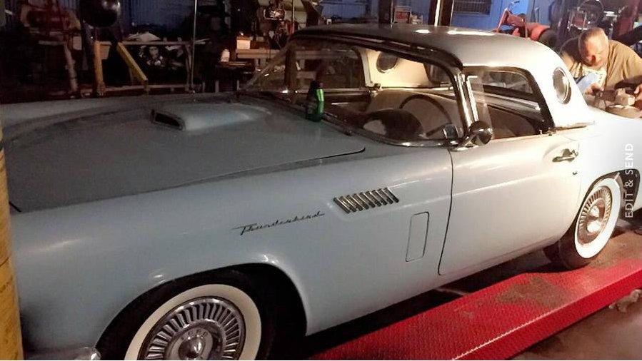 Sitting 30 Years: 1957 Thunderbird Garage Find