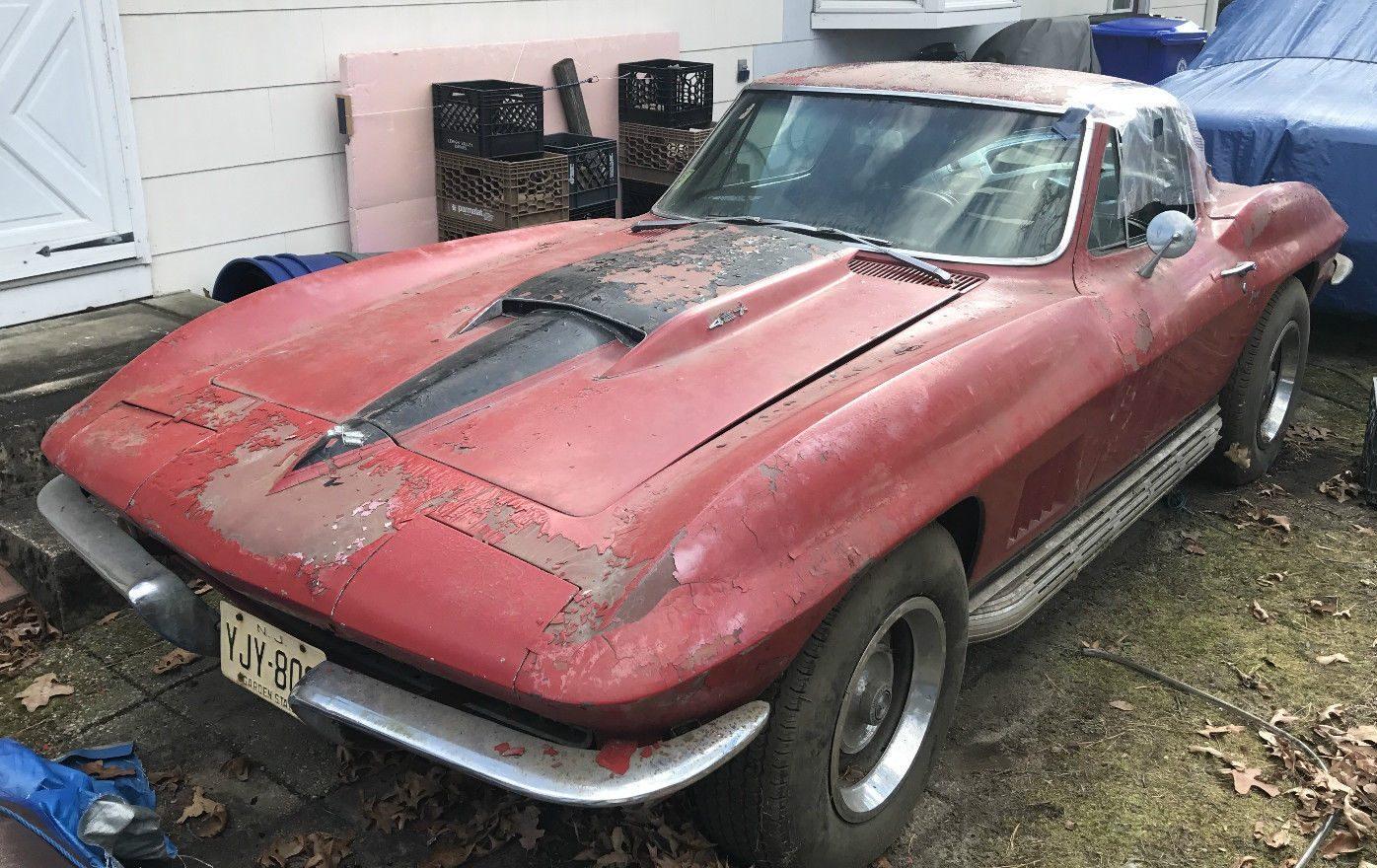 Backyard Find: 1967 Chevy Corvette