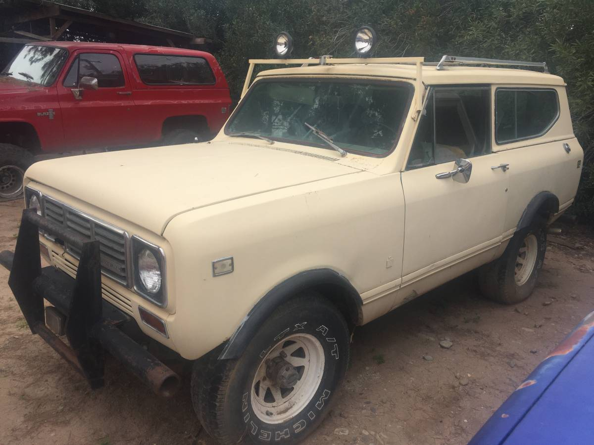Best Used Truck >> Good Project: 1976 International Scout