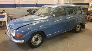 4-stroke Swede: 1971 Saab 95 V4 Wagon