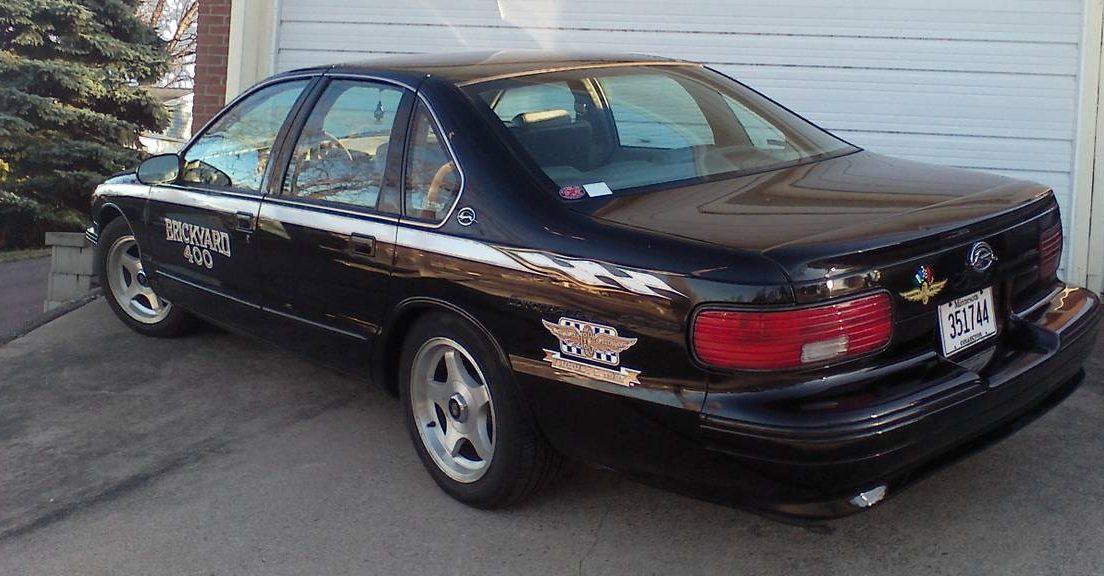 Pace Car Tribute: 1995 Impala SS Brickyard