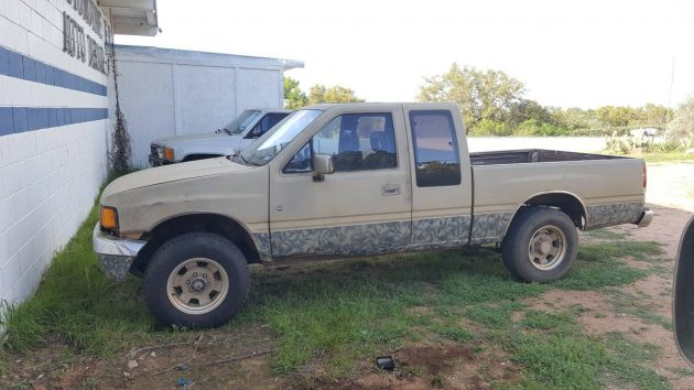 Space Case: 1988 Isuzu Spacecab pick up