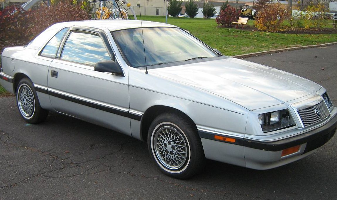 Shady Lot Find Preserved 87 Lebaron