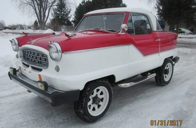 Funky 4WD: 1961 Nash Metropolitan 4×4