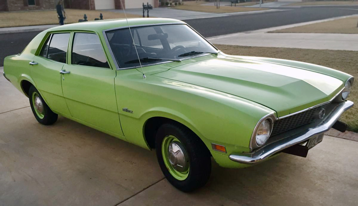 Lean Green Machine: 1971 Ford Maverick
