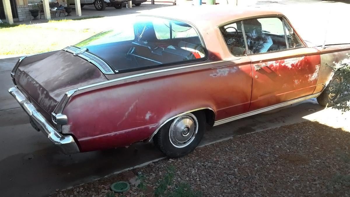 Barn Cuda 1966 Plymouth Barracuda