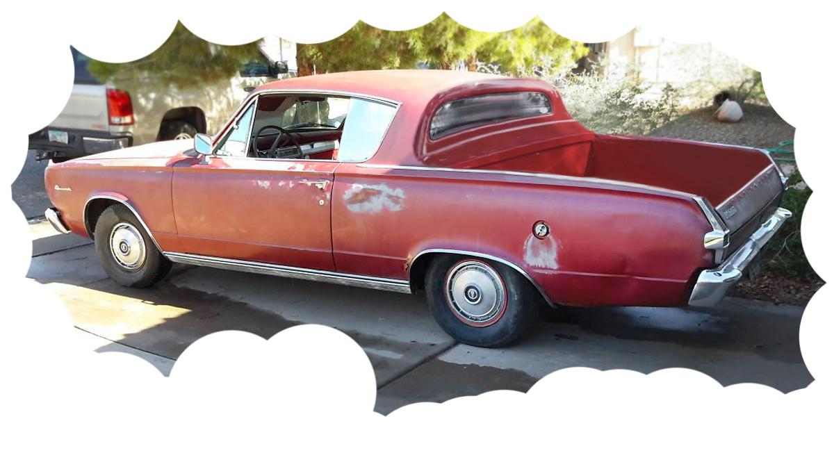 Barn 'Cuda: 1966 Plymouth Barracuda
