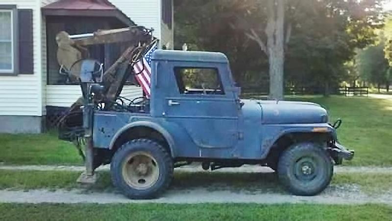 Go For Digger 1971 Jeep Cj 5 Backhoe