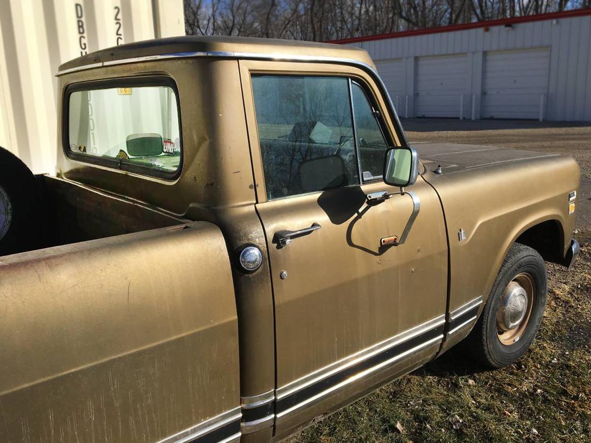 Corny: 1972 International 1110 Pickup