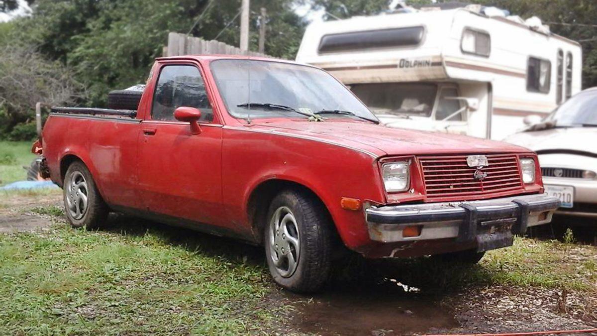 drill baby 1981 chevrolet chevette diesel pickup. Black Bedroom Furniture Sets. Home Design Ideas